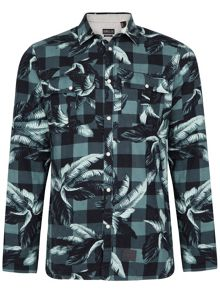 O'Neill Violator pattern flannel