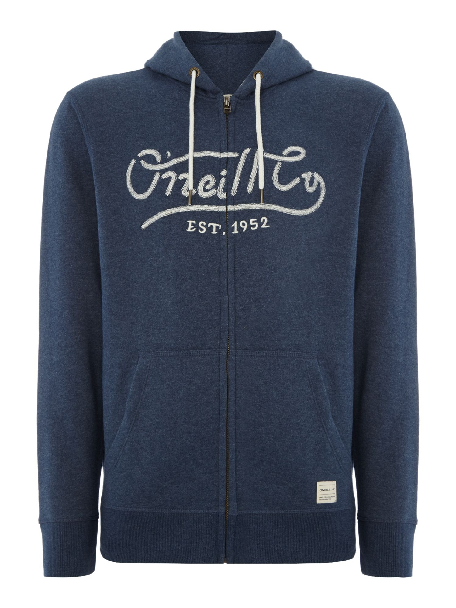 Click to view product details and reviews for Mens Oneill Pch Santa Cruz Hoodie Blue.