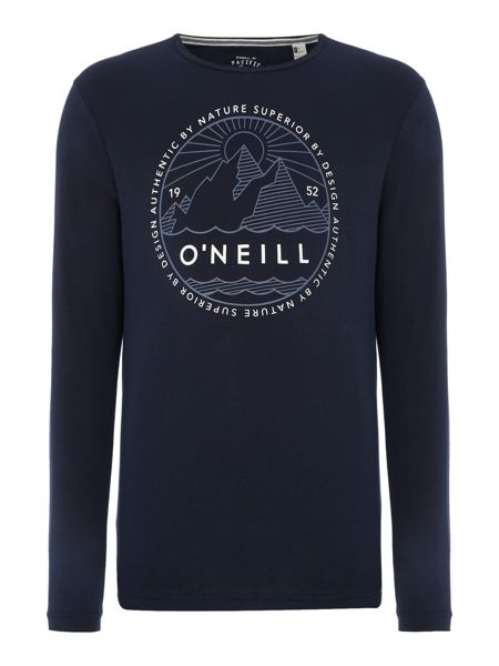 O'Neill Oceanside long slv top
