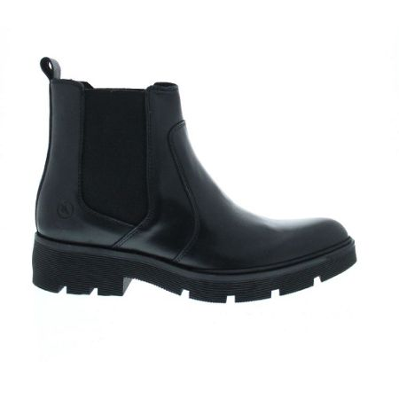 Bronx Leather point flat boot