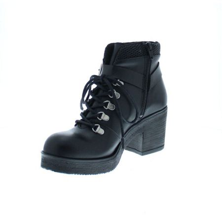 Bronx Leather heeled ankle boot