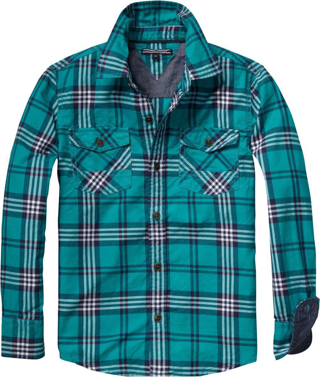 Baby boys harwich check shirt