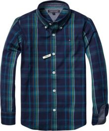 Boys eastham check shirt