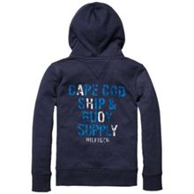 Boys brewster zip up hoodie