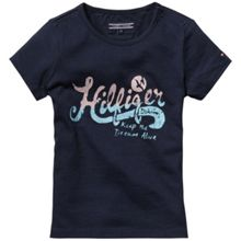 Girls mini print t-shirt