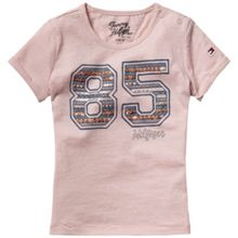 Girls `85` print t-shirt