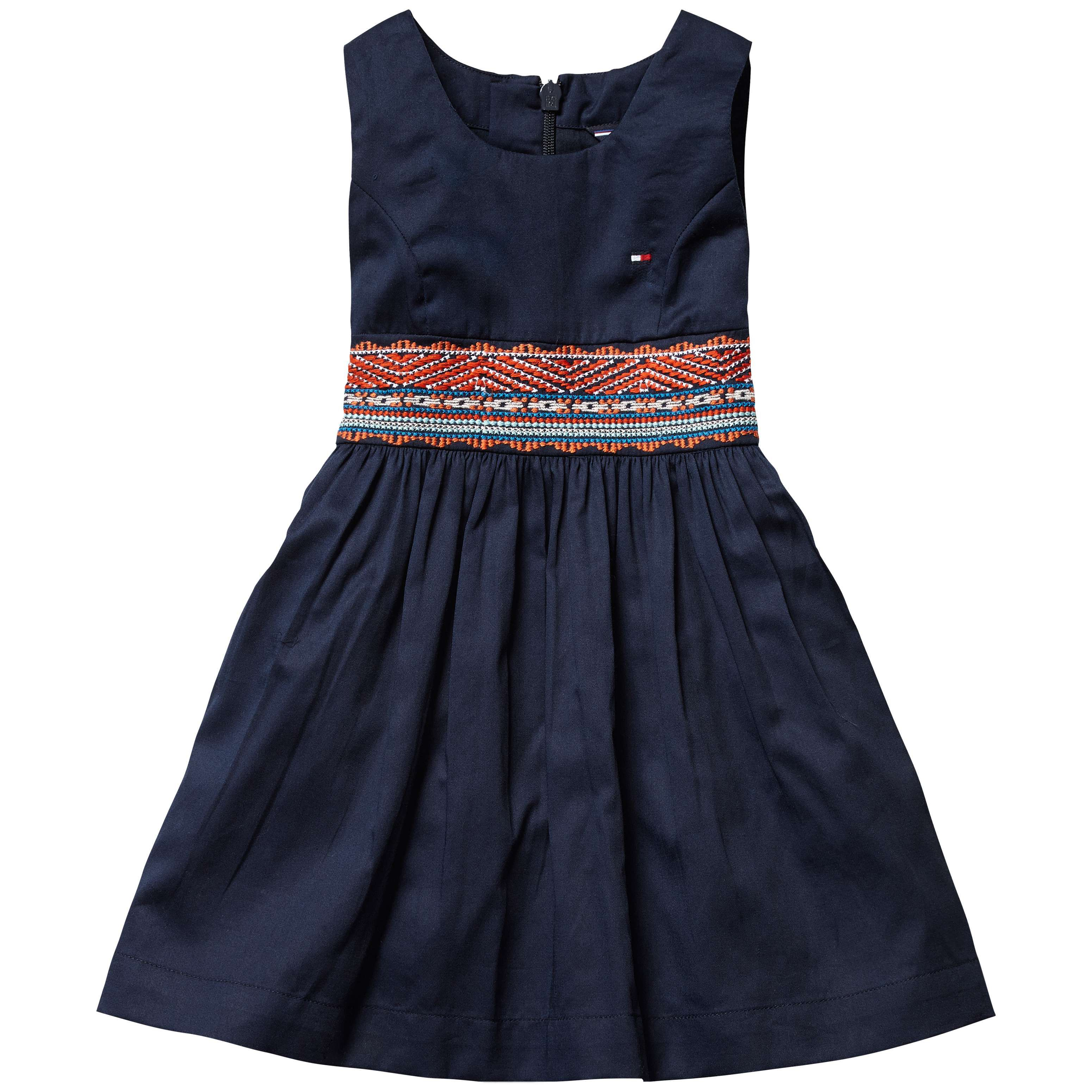 Girls deco mini dress