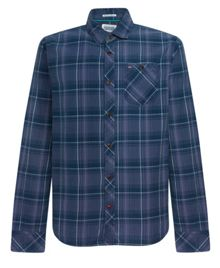 Lancaster check long sleeve shirt