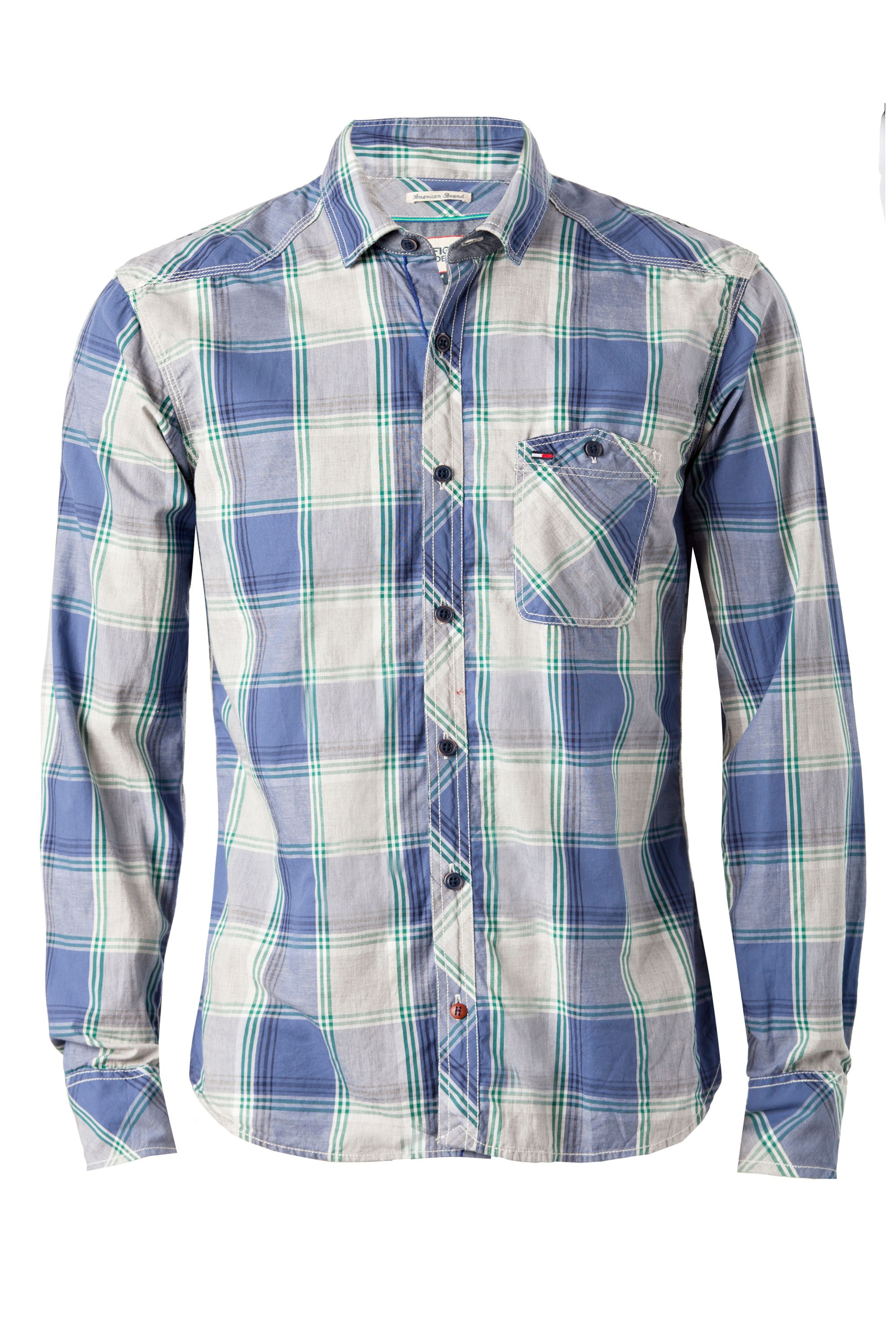 Lincon check long sleeve shirt