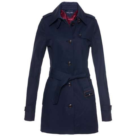 New Heritage short trench coat