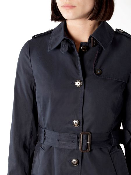 Tommy Hilfiger New Heritage short trench coat
