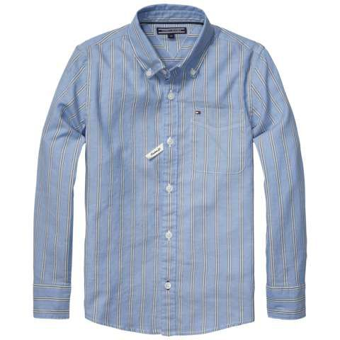Boys shelton stripe shirt