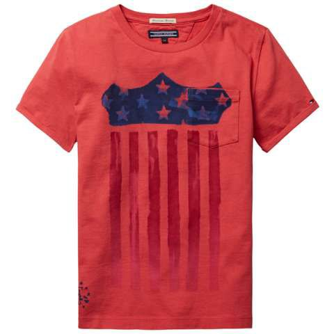 Boys blue star t-shirt