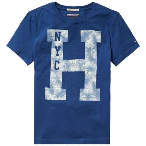 Boys `h` cotton t-shirt