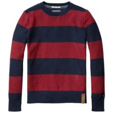 Boys blockstripe sweater