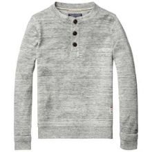 Boys henley sweater
