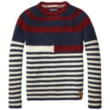 Boys elmira stripe sweater