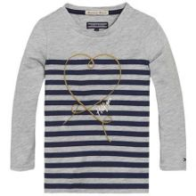 Girls baroque stripe knit