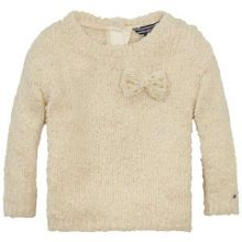 Girls boucle sweater