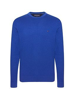 Men's Tommy Hilfiger Pima cotton cashmere crew-neck sweater