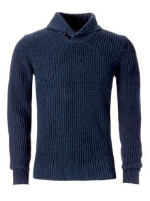 Leigh shawl-neck sweater