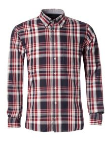 Fever check cotton shirt