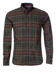 Chad check cotton shirt