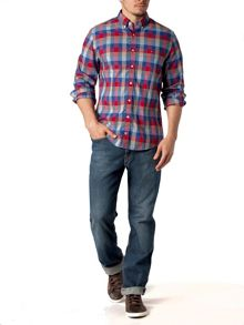 Shane check cotton shirt