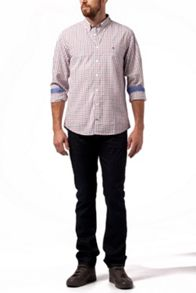 Alan check cotton shirt