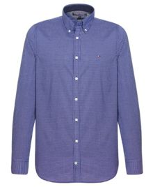 Kell mini check cotton shirt