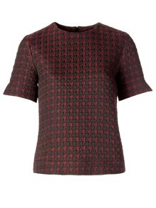 Bo Houndstooth T-shirt