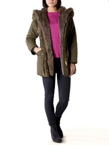 Yasmin Quilted Parka