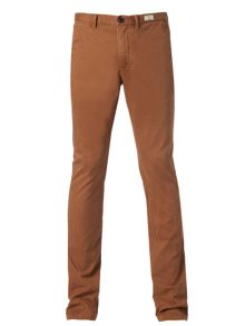 Slim fit cotton chino