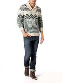 Elias shawl sweater