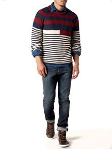Elmira striped sweater