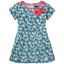 Girls field flower mini dress