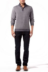 Romus Textured Button Jumper