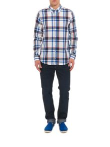 Oakes Check Classic Fit Long Sleeve Shirt