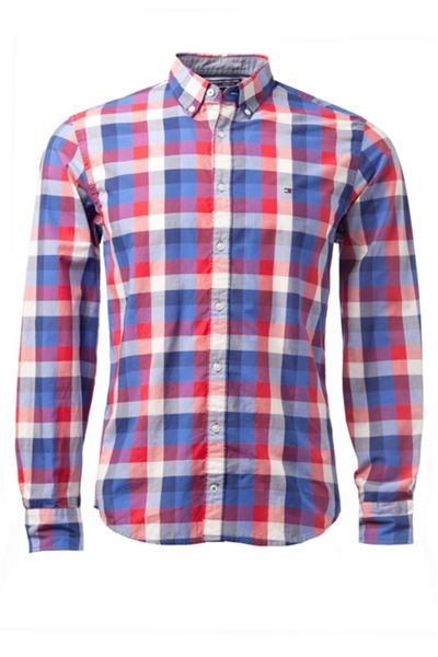 Tommy Hilfiger Keydancheck Classic Fit Long Sleeve Shirt
