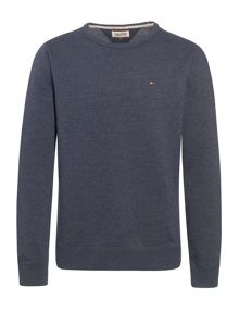 Tommy Hilfiger Vaco Plain Crew Neck Slim Fit T-Shirt