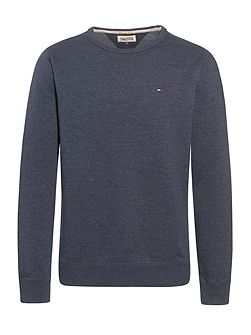 Vaco Plain Crew Neck Sweatshirt