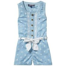 Girls heart playsuit