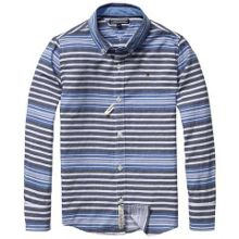 Boys city stripe shirt