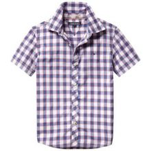 Boys norris check shirt