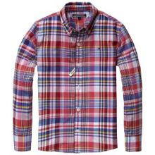 Boys burrow check shirt