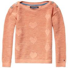 Tommy Hilfiger Girls hearts mini sweater