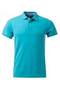 Slim Fit Short Sleeve Polo Shirt