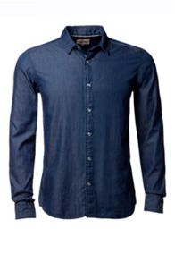 Thompson Plain Slim Fit Long Sleeve Shirt