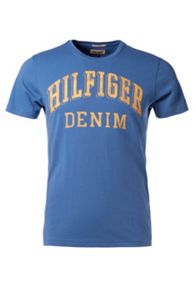 Federer Logo Crew Neck Slim Fit T-Shirt