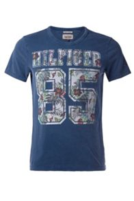 Fletcher Graphic Crew Neck Slim Fit T-Shirt